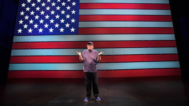 Michael Moore Explains Why His Broadway Show Is About Hope