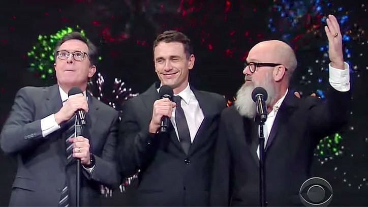 Watch Michael Stipe, Stephen Colbert, James Franco in 2016-Themed R.E.M. Parody