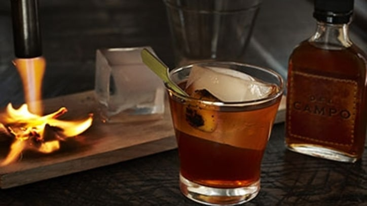 A Flaming Old-Fashioned