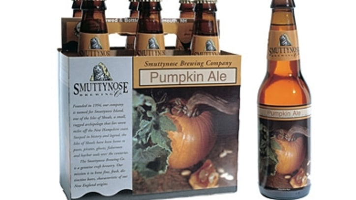 A Pumpkin Beer Made With Real Pumpkins