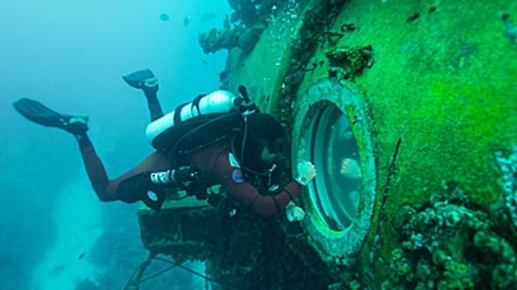 A Visit With Fabien Cousteau, 65 Feet Under the Sea
