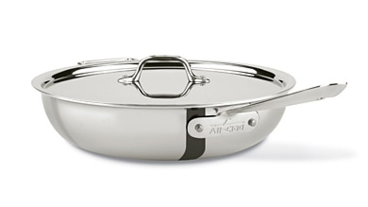All-Clad Stainless Steel Weeknight Pan