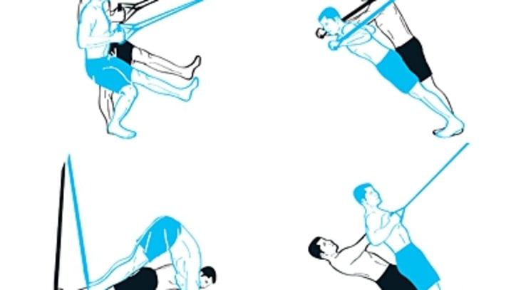 Band Strength: Four Suspension Trainer Exercises