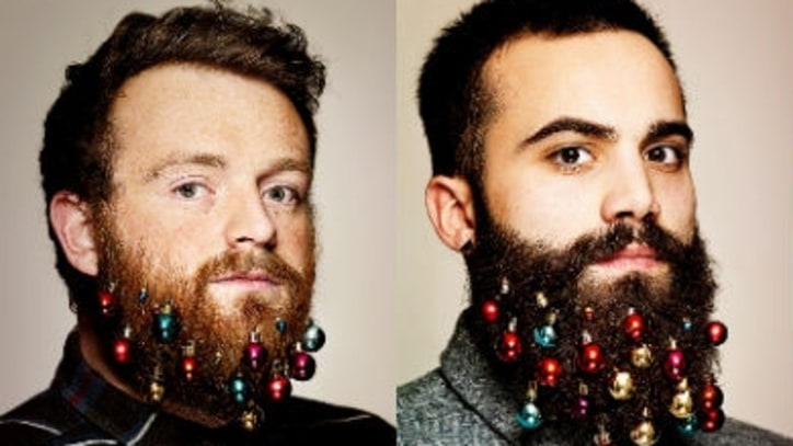 Deck Your Beard With Shiny Baubles This Christmas