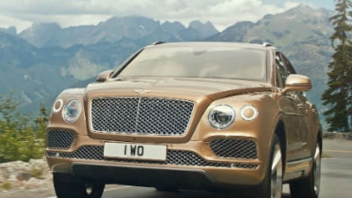 Bentley Unveils the World's Fastest Production SUV