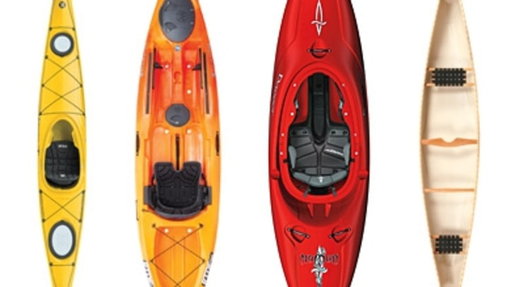 Best Canoes and Kayaks 2012
