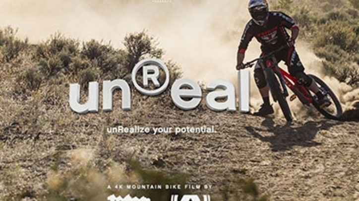 Front Flips and Carving Glaciers: Watch the 'unReal' Mountain Bike Trailer