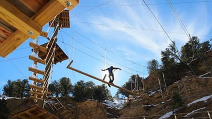Channel Your Inner Spider-Man at Colorado's New Aerial Adventure Park