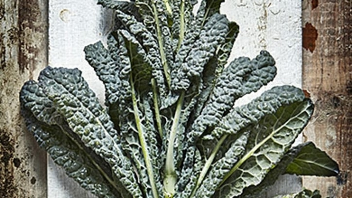 A Healthier Dinner: Root Vegetables and Sautéed Kale