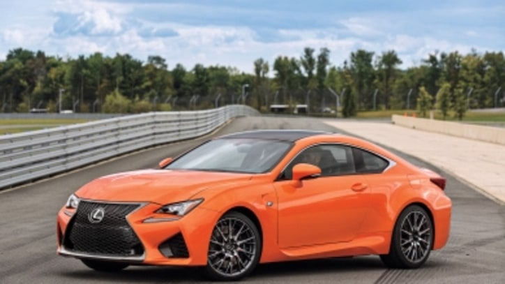 With the 2015 RC F, Lexus Comes Alive