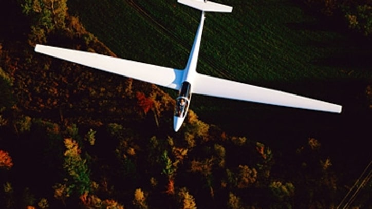 Gliding Above the Finger Lakes