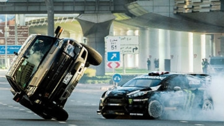 The World's Craziest Rally Driver Burns Through Dubai
