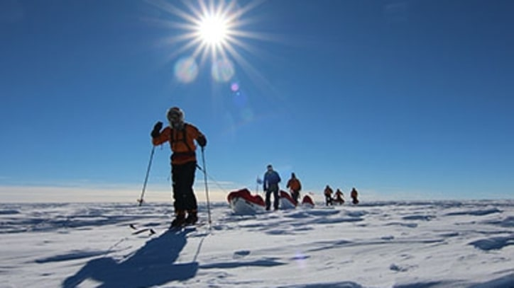 Wounded Warriors' Historic Trek to the South Pole
