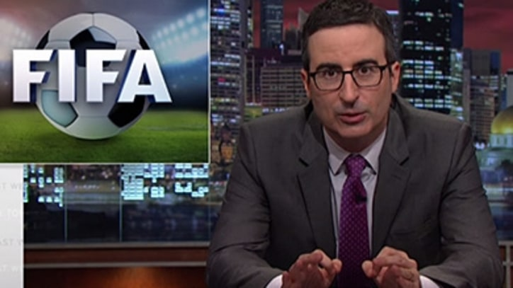 John Oliver Appeals to the Powers That Really Control FIFA
