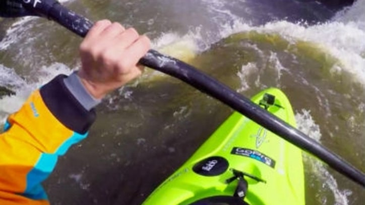 Watch a Pro Kayaker Take a Rare Drop Into New Zealand's Wairua Falls