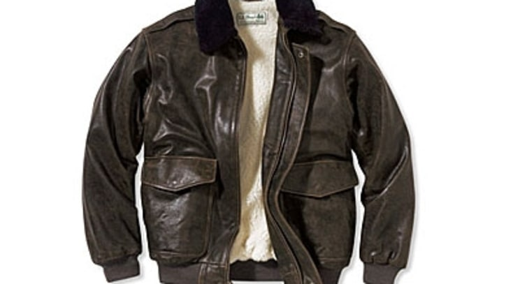 LL Bean Flying Tiger WWII Jacket: Best Leather Jackets