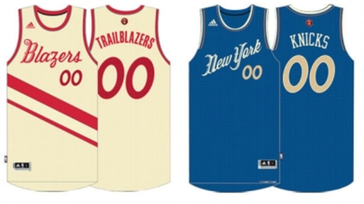 A First Look at the Leaked NBA Christmas Day Uniforms