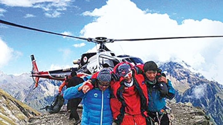Nepal's High-Risk Helicopter Rescue Unit