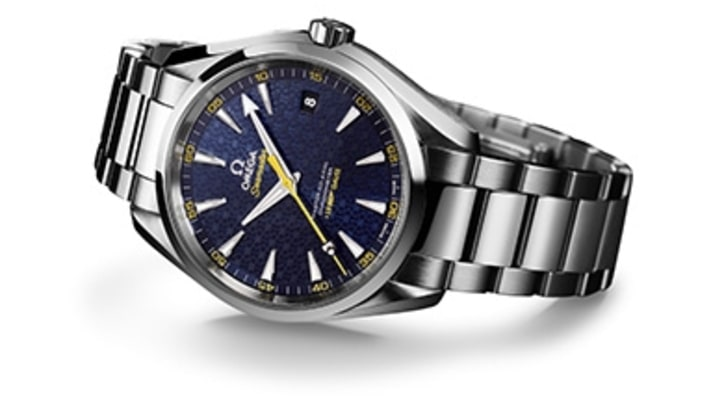 Omega Unveils James Bond's Latest Watch for 'Spectre'
