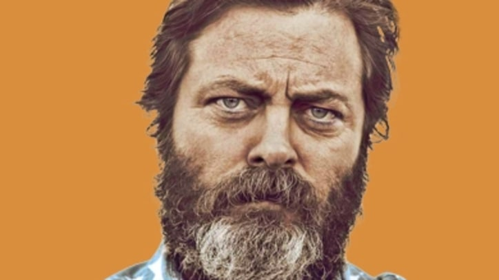 Nick Offerman Goes 'Full Bush'