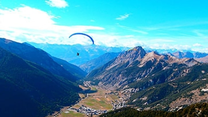 Paragliding Across of the Alps – in a Wheelchair