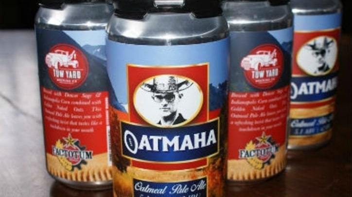 Peyton Manning Gets His Own Beer, Oatmaha