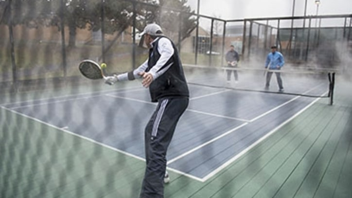 Platform Tennis Takes Winter by Storm