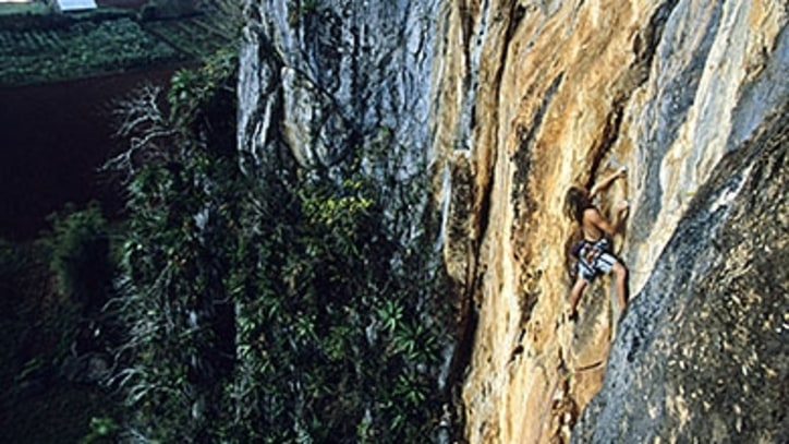 Reaching for Viñales, the Best Rock Climbing in Cuba