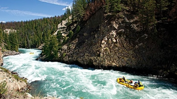 Whitewater Rafting Down the Chilko River