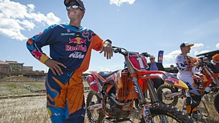 Ryan Dungey's Core Workout to Boost Overall Strength