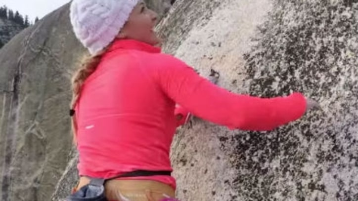 Watch Champion Climber Sasha DiGiulian Crush Yosemite's Lost Arrow Spire