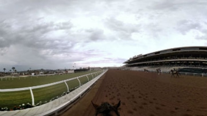 See a Jockey's View of What It's Like to Ride American Pharoah