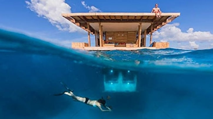 Shelter of the Week: The Underwater Room