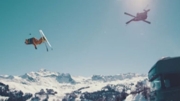This Ski Chase Is So Good It Doesn't Need to Make Sense