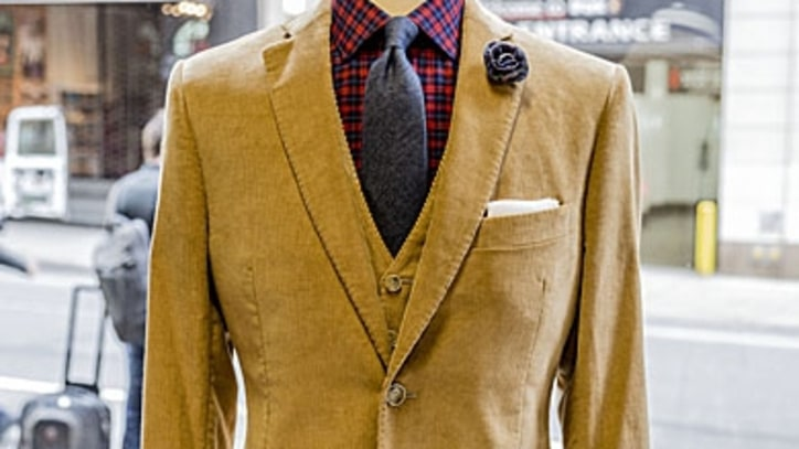Expert Look of the Week: How to Wear Corduroy this Fall