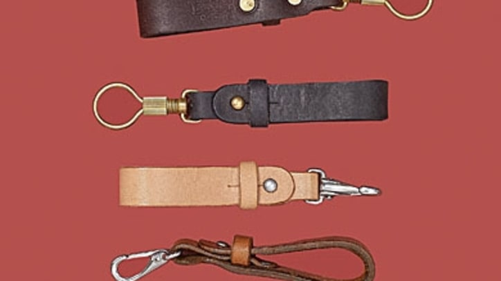 Tanner Goods Leather Key Lanyard: Style Gift Guide