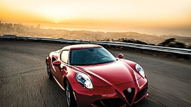 Test Drive: The Affordable Alfa Romeo 4C Sports Car