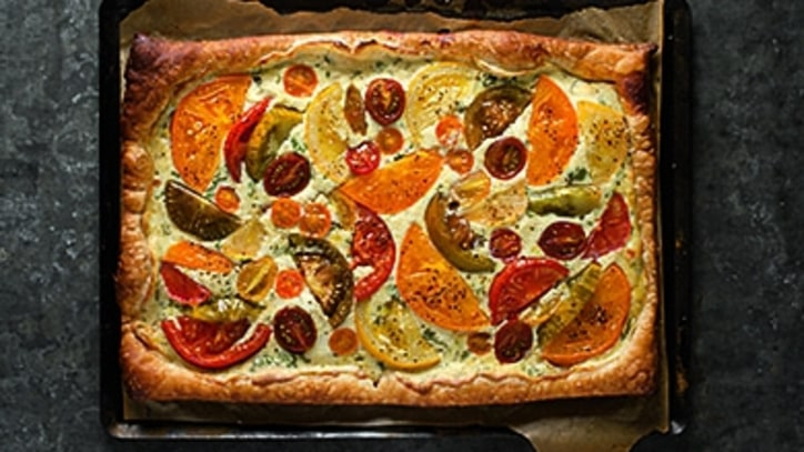 A Tomato Tart for Summer