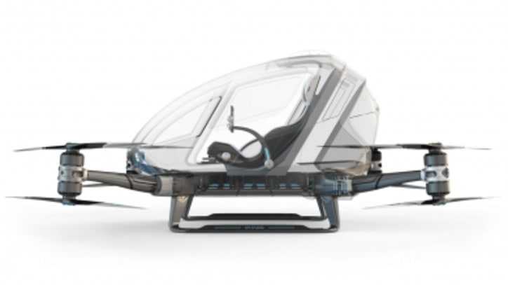 This Badass Drone Is Built to Carry a Human Passenger