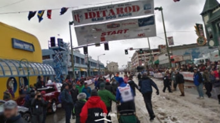 The Iditarod Racecourse, Now on Google Street View