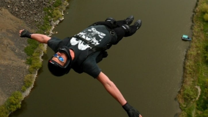 BASE Jumper Jeb Corliss: