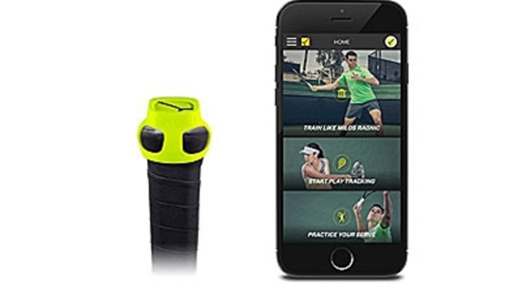 The Bluetooth Sensor That Improves Your Tennis Game