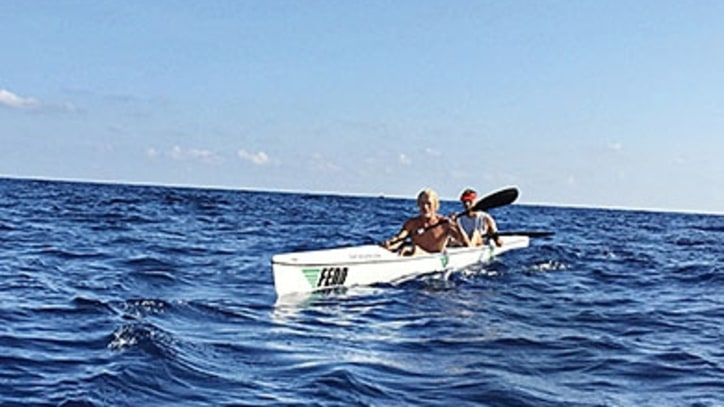 Kayaking from Florida to the Bahamas Faster Than Anyone ... Again