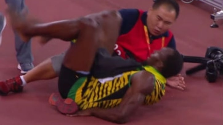 Usain Bolt Wins the World Championships, Then Gets Hit by a Segway