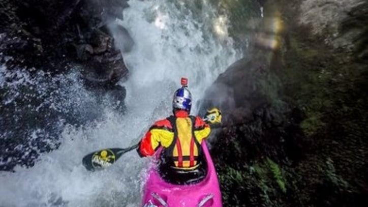 Watch a Kayaker Tackle Mexico's Most Dangerous Waterfalls