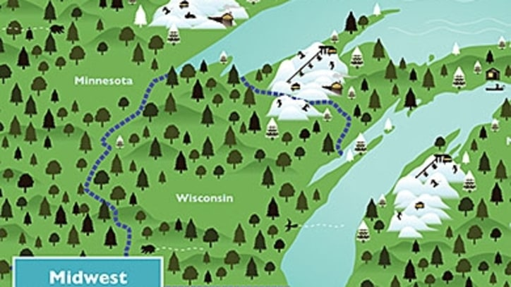Where to Ski Now in the Midwest