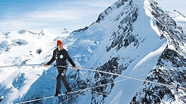 World's Highest Wire Act, Crossing Peak to Peak