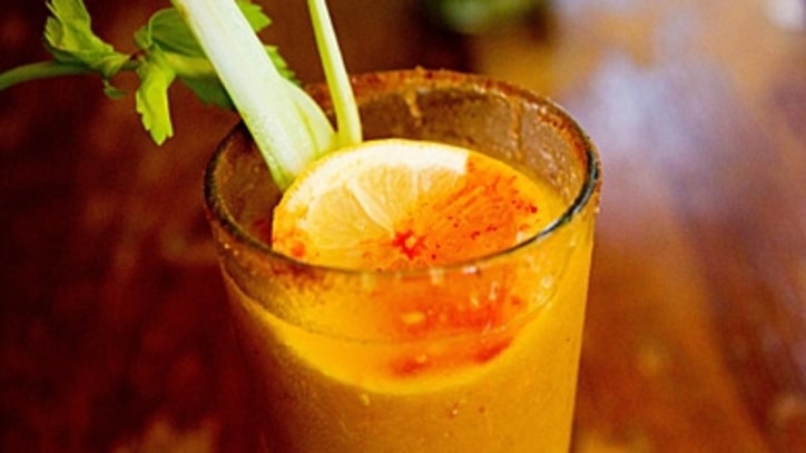 The Mellow Yellow Bloody Mary