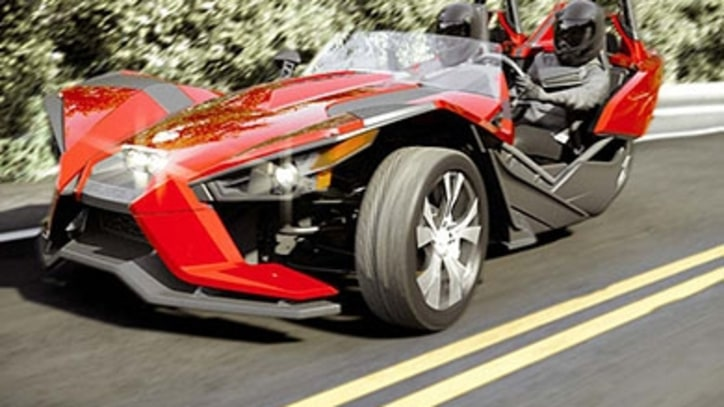 The Mets' Star Left-Fielder Drives a Polaris Slingshot (No, Really)