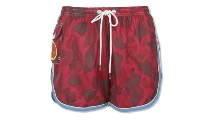 Gant by Michael Bastian Camo Swim Shorts